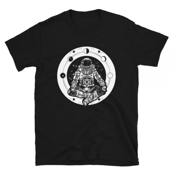 Yoga Astronaut T-Shirt black