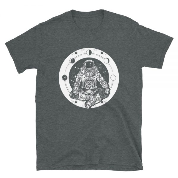 Yoga Astronaut T-Shirt dark grey heather