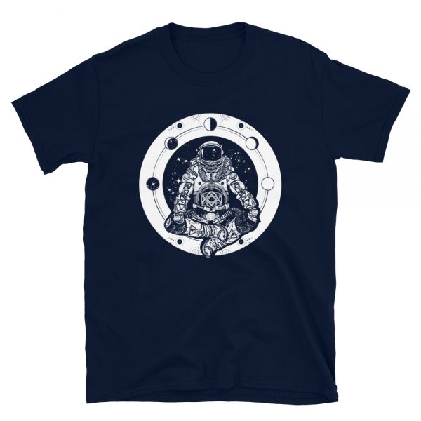 Yoga Astronaut T-Shirt navy