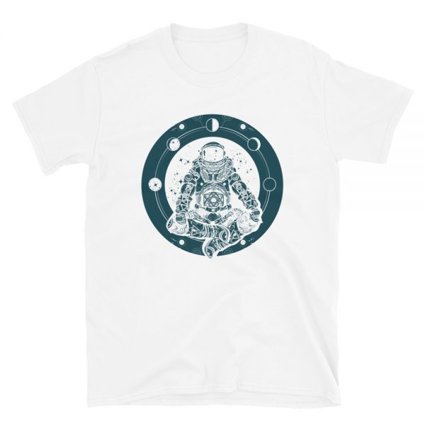 Yoga Astronaut T-Shirt white